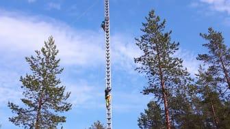 MicronNät projekterar för luftburet bredband i Laggarberg