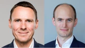 CFO Ole Martin Grimsrud (left) and CTO Erlend Reiten (right)