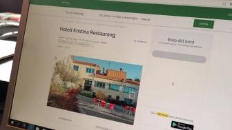 Boka måltider online på Hotell Kristinas hemsdia