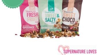 Supernature loves!  Ny økologisk og naturlig glutenfri ready to eat-serie fra Supernature