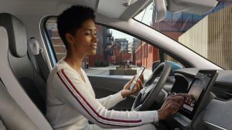 Renault Zoe er med i en masse test af udvikling af nye mobilitetstenester