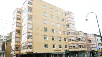 Brf Landskronahus 1 med 36 lägenheter.