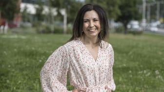 """""""Det här är övertygande data för sotorasib som väcker hopp om att svenska patienter snart ska få tillgång till riktad behandling mot denna svårbehandlade form av lungcancer"""",  säger Sandra Eketorp Sylvan. FOTO: Bosse Johansson"""