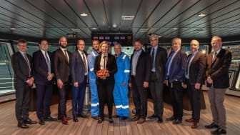 Maersk and Kleven representatives
