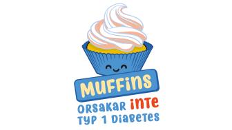 Nej, man får inte typ 1-diabetes av muffins. Barndiabetesfonden och ICA i samarbete för att slå hål på myten