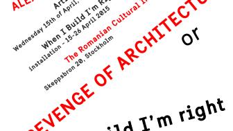 Artist talk och utställning Alex Mirutziu