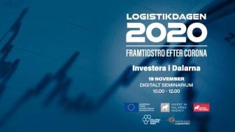 Framtidstro efter Corona och hur företag, organisation och samhälle investerar diskuteras i samband med Logistikdagen 2020