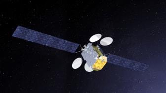 Le satellite de Broadband for Africa dont le lancement est prévu en 2019 - Crédit photo: Thales Alenia Space