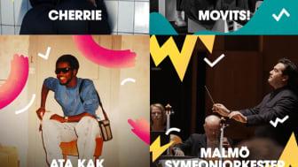 Tio nya musikpärlor klara för årets festival!