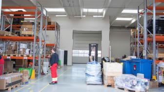 Med de nye lagerfaciliteter er i øvrigt også kommet et aflåst rum – en halv kvadratmeter – til opbevaring af forsyninger af skibenes pyroteknik.