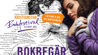 Bokbegär på Kristianstad Bokfestival 2018
