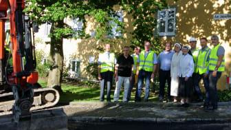 Kloster Strahlfeld setzt auf Erdgas – Bayernwerk verlegt Leitungen im Raum Roding