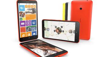 Nokia lancerer Lumia 1320 i eksklusivt samarbejde med Elgiganten