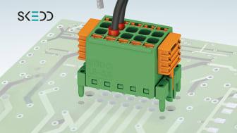 Phoenix Contact utvider sitt sortiment med praktiske kretskortpluggforbindere med SKEDD-teknologi.