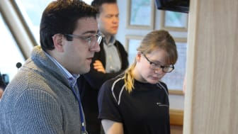 Kongsberg Maritime worked with students and researchers aboard the R/V Gunnerus