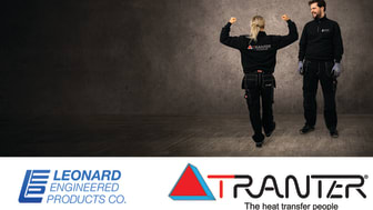 Leonard Engineered Products Co. Returns to Tranter as Representative