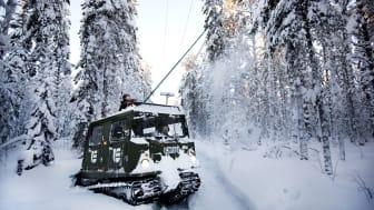 Umeå Energi skickar montörer till Norrbotten för akut felavhjälpning