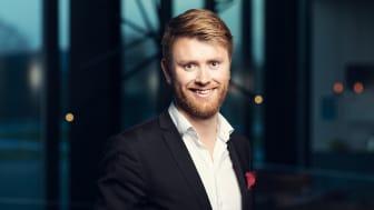 Michael Holm blir tidenes yngste hotellsjef i Quality Hotel