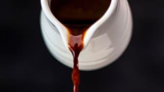 Kaffesyrup på överblivet kaffe