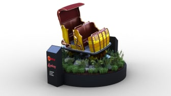 A preview of Liseberg's new dark ride on display in Paris