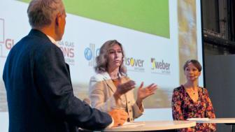 Weber i panelsamtal om miljöcertifieringskrav