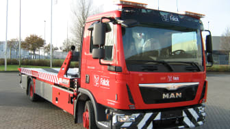 138 new Falck vehicles improve roadside assistance in Denmark