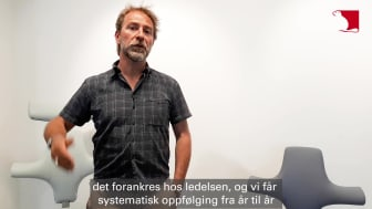 Atle Thiis-Messel, miljøsjef i Flokk.