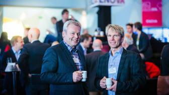 PRISVINNERE: Styreleder Arne Hellum og Daglig leder Richard Granskogli i Energiverket (Foto: enova)