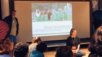 Tøyen Sportsklubb gir mange barn på Tøyen en trygg og aktiv fritid.