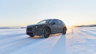 BMW iNEXT vintertest