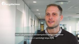 Norrlands Universitetssjukhus - Energibesparingen ger miljoner till vården
