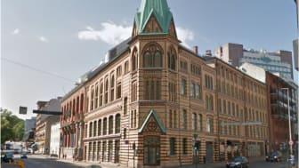 SiO kjøper eiendommen St. Olavsgate 23 på vegne av oslostudentene. Eiendommen ligger midt i sentrum, nær flere av byens studiesteder og kulturtilbud (Foto: CapMan/Fredrik Hansson)