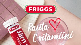 UUTUUS: FRIGGS Rauta + C pore, herkullinen mustaherukan maku!