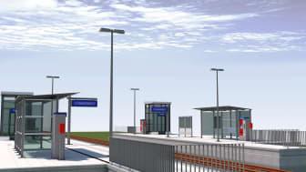 Die neue Projektvorlage von ALLPLAN für die BIM-basierte Bahnsteigplanung beinhaltet zahlreiche Objekte, die den Workflow der Planung, Modellerstellung, Auswertung, Dokumentation und Datenübergabe unterstützen.