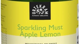 Urtekram Sparkling Must Appel Lemon