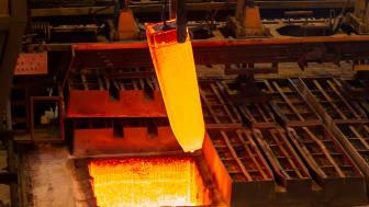 Stål upphettat med vätgas