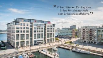 Vår fastighet Torrdockan 6 i Malmö är en av de fastigheter som blir mer energieffektivt med unik värme- och kylmaskinslösning.
