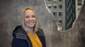 Sofia Nilsson, ny projektchef på Smidmek AB, har tio års erfarenhet av betong- och cementindustrin. FOTO: Magnus Gotander