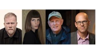 Lars Berge, Helena Granström, Staffan Widstrand och Andreas Ekström