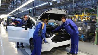 Készül az új Ecosport a Ford krajovai gyárában