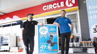 Nu flyttar Kjell in hos Circle K