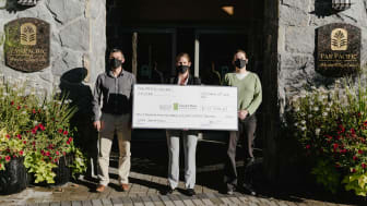 Pan Pacific Whistler commemorates 10-year partnership with Canuck Place Children's Hospice
