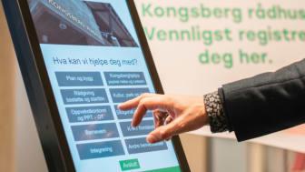 Procon Digital KommuneVert på Kongsberg rådhus