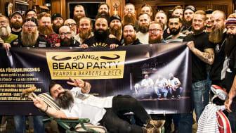 Spånga Beard Party arrangeras för tredje året i rad av Georges Klipp och Beardshop.se