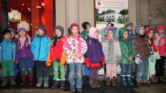 Der Bärenherz-Weihnachtsstand: Eine gelungene Veranstaltung in der Mädler-Passage