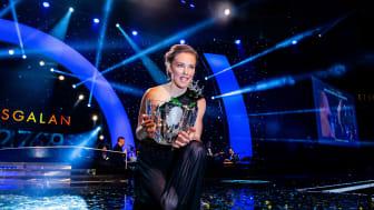 Tove Alexandersson - vinnare av Radiosportens Jerringpris 2019 Foto: Bildbyrån