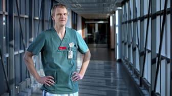 Jag hade en vision om någon form av it-stöd som tydligt kunde visualisera alla SVF-patienter under utredning, säger David Wennergren, tumörortoped på Sahlgrenska sjukhuset.