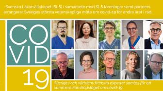 Välkommen att rapportera och delta i Sveriges största vetenskapliga möte om Covid-19 den 24-25 november 2021.