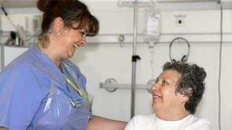 Nöjda patienter på Norrtälje sjukhus
