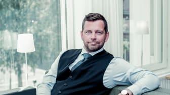 Lennart Lagnehag, tillträdande General Manager vid Clarion Collection Hotel Valdemars i Riga.
